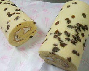 蔓越莓蜂蜜蛋糕捲